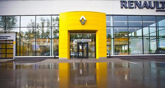 Автомир Renault, Новосибирск, ул. Петухова, 87