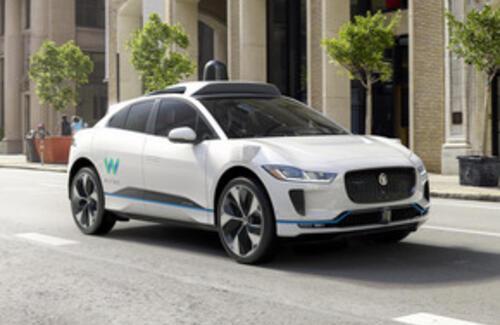 Jaguar Land Rover и Waymo объявляют о начале долгосрочного сотрудничества