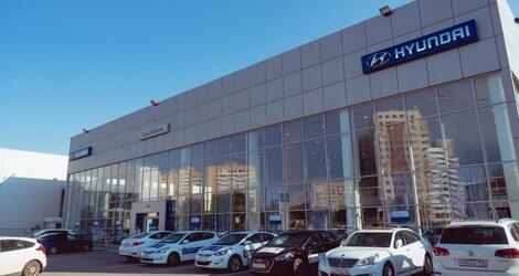 ТТС Hyundai на Декабристов, Казань, ул. Декабристов, 81 В