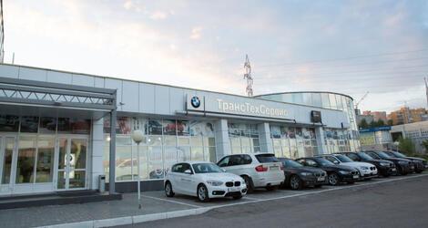 BMW ТрансТехСервис в Уфе, Уфа, пр. Салавата Юлаева, 95