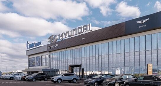 Hyundai АГАТ на Ларина, Нижний Новгород, ул. Ларина, 23 Г