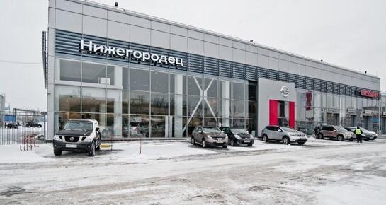 Нижегородец Nissan на Комсомольском шоссе, Нижний Новгород, Комсомольское шоссе, 14 А