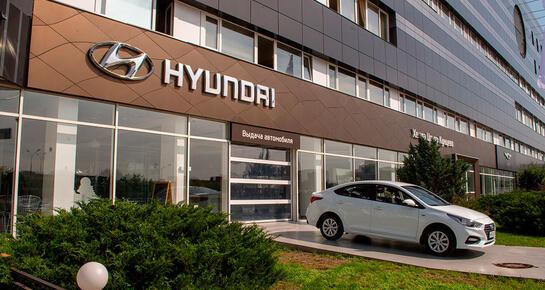 Hyundai Центр Кунцево, Москва, МКАД, 56 км, ул. Горбунова, 14