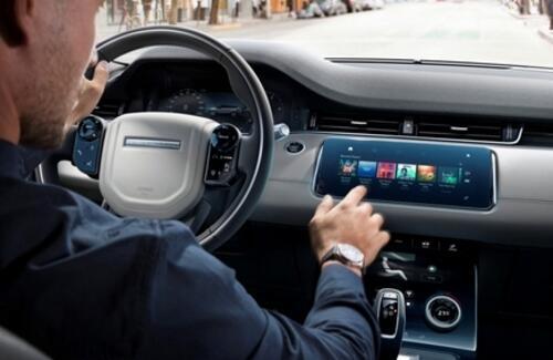 Для российских владельцев автомобилей Jaguar и Land Rover стало доступно приложение Spotify