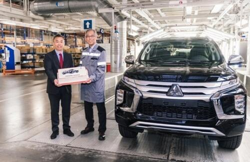 Дан старт производству нового Mitsubishi PAJERO SPORT в России